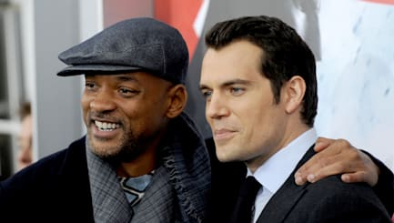 Henry Cavill legt Will Smith auf Comic-Con rein