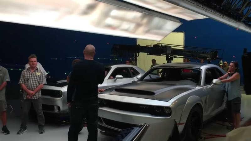 The Dodge Demon is leaked in Fast 8 video with Vin Diesel
