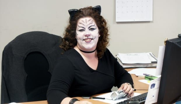 Halloween at the Office 2008 - 05