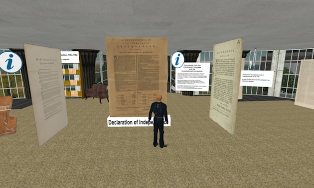 Library of Congress Exhibit Now Open In Second Life
