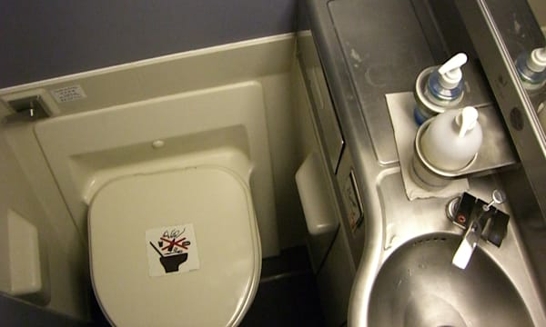 The Bathroom on Singapore Air