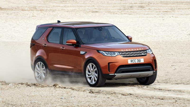 2018 Land Rover Discovery softens its style, loses some weight