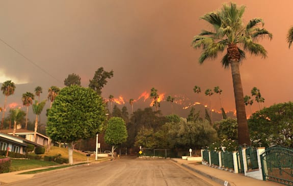 AP10ThingsToSee California Wildfires