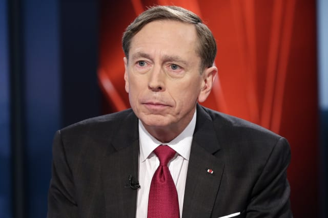 Wall Street Week Petraeus