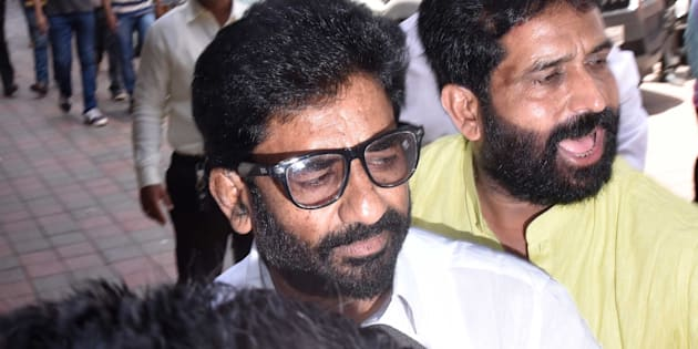 Shiv Sena MP Ravindra Gaikwad is flying again, on Air India