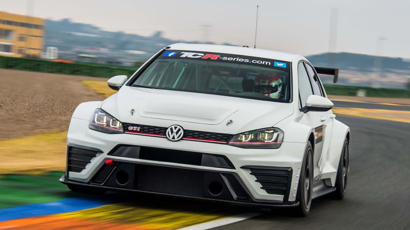 VW Golf GTI TCR is a 326-hp forbidden track beast - Autoblog