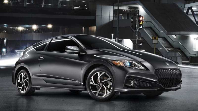 Honda adds tech to 2016 CR-Z, no powertrain upgrades