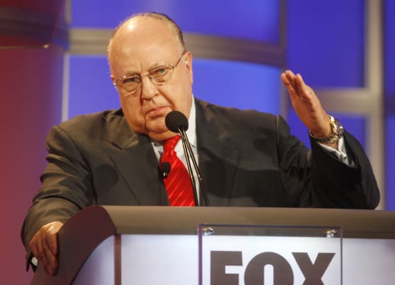 Note Ailes wrote to Rupert Murdoch after resigning