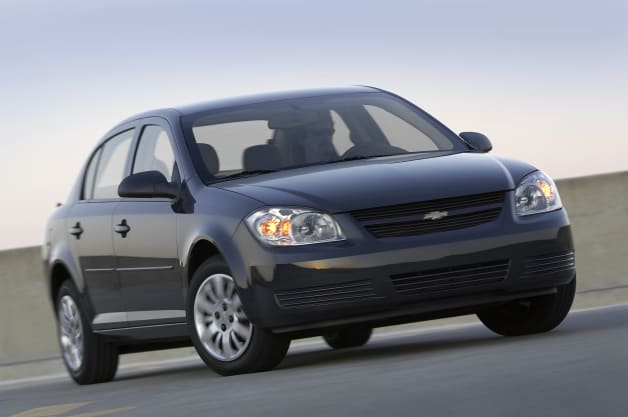 Chevy Cobalt - front three-quarter view