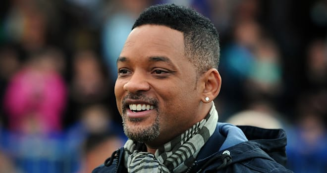 Will Smith at the UEFA Champions Festival in East London on May 25, 2013