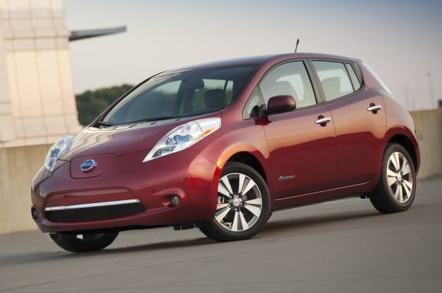2014 nissan leaf price climbs 180 to 28 980 ghosn. Black Bedroom Furniture Sets. Home Design Ideas