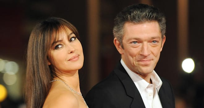 Monica Bellucci and Vincent Cassel at the 2008 Rome International Film Festival