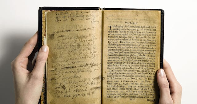 Colonial Psalm Book Auction
