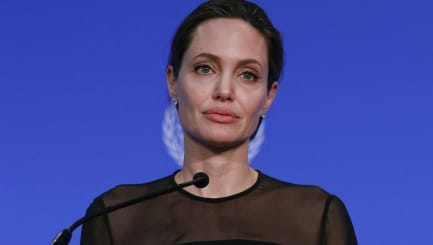 'Angelina's family is broken and she is in agony'