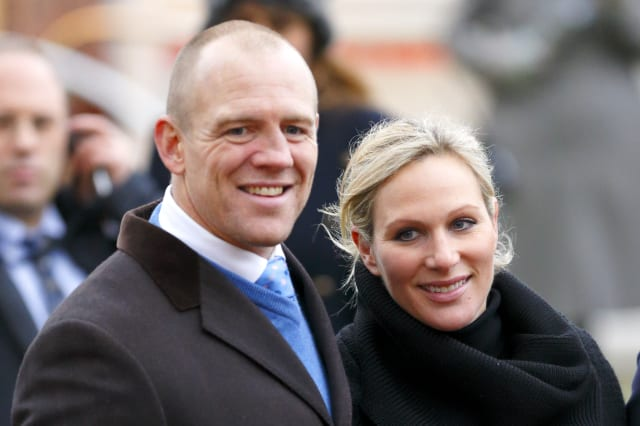 Mike Tindall & Zara Phillips