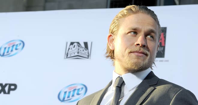 Charlie Hunnam at the 'Sons of Anarchy' Season 6 Premiere on September 7, 2013