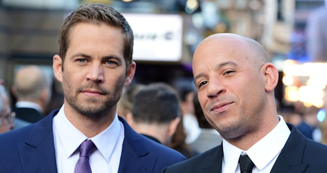 Paul Walker and Vin Diesel at the 'Fast & Furious 6' World Premiere