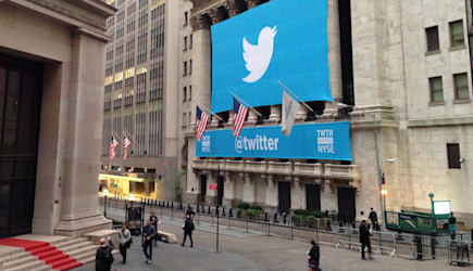 #TwitterIPO day on the #NYSE. #NYC