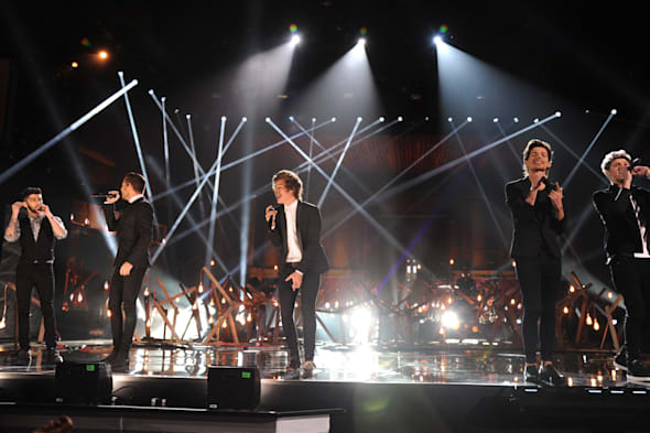 2013 American Music Awards AMAs One Direction Story of My Life