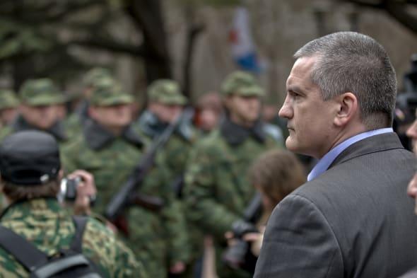 Crimean Premier Sergei Aksyonov