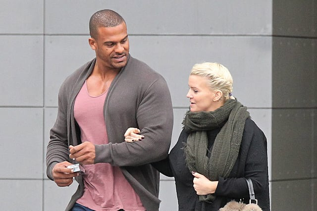 Kerry Katona Sighting - Manchester