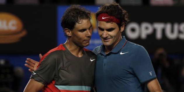 Federer remporte l'Open d'Australie face à Nadal