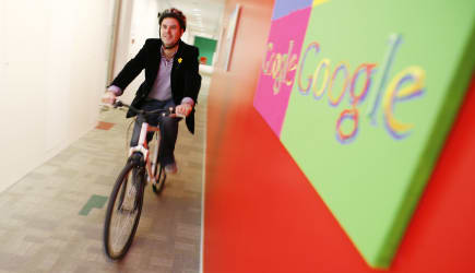 Google offeres Employees Free Bicycles