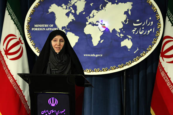 Iranian Foreign Ministry spokeswoman Afkham