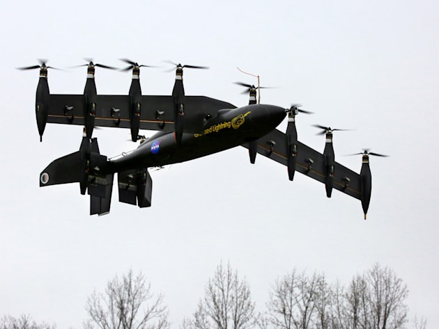 NASA's 10-engine electric UAV now flies as well as it hovers