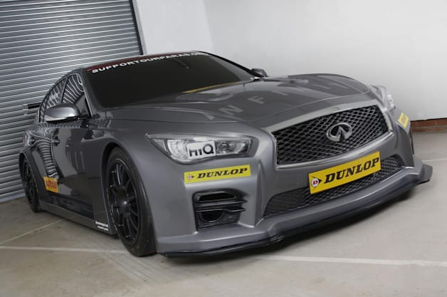 Infiniti Support Our Paras Racing Q50
