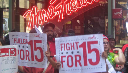 Fight for $15 in Chicago