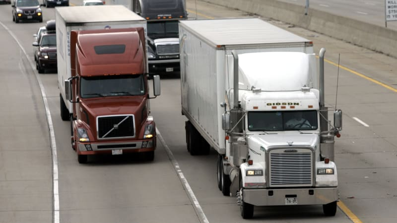 Congress blocks regulations requiring truckers to get more rest