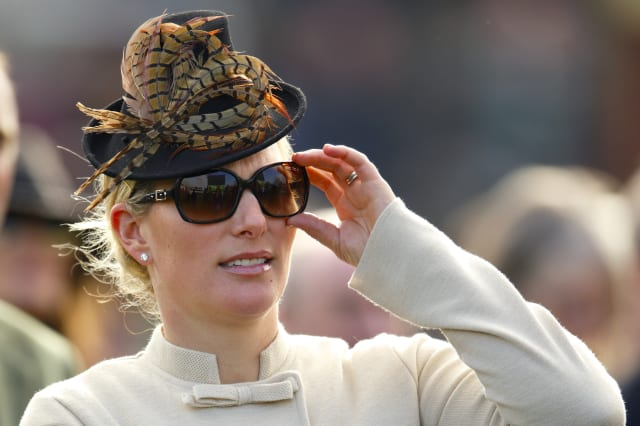 New mum Zara Phillips