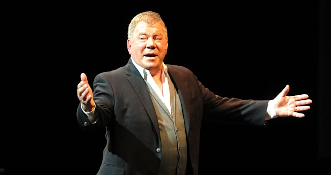 william shatner captain kirk space