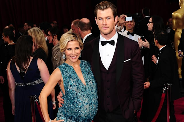 Chris Hemsworth and wife Elsa Pataky have twins