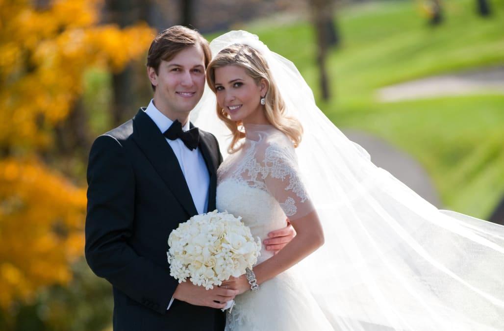 Ivanka Trump And Jared Kushner Wedding