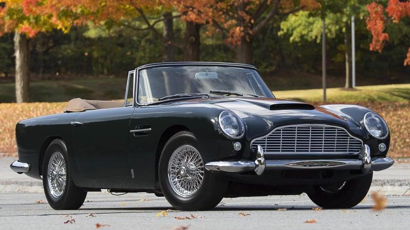 1965 Aston Martin Db5 Convertible Fetches Record 2
