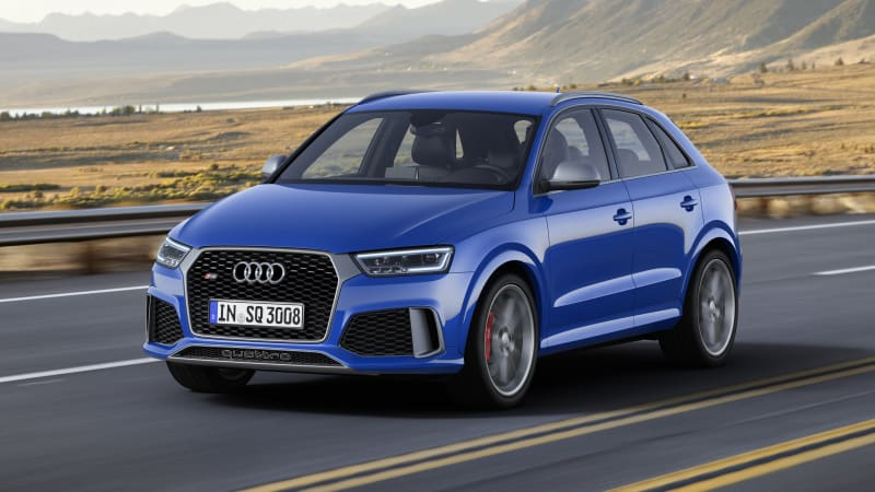 Audi RS Q3 Performance pours sugar on the forbidden fruit