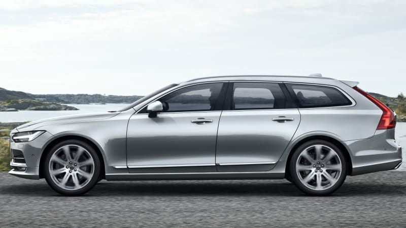 Best Car Buying Apps >> 2018 Volvo V90 revealed: long live the wagon - Autoblog