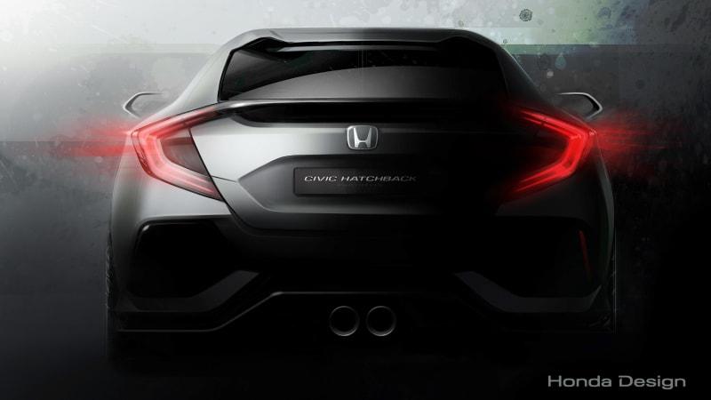 Honda bringing Civic hatchback concept to Geneva