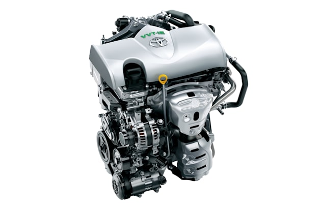 Toyota small-displacement engines