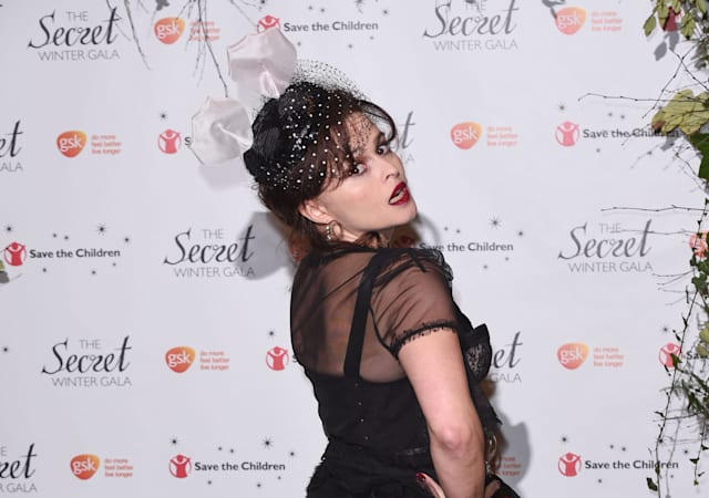 Mandatory Credit: Photo by David Fisher/REX (4255171s)Helena Bonham CarterSave the Children's Secret Winter Gala, London, Britain - 19 Nov 2014