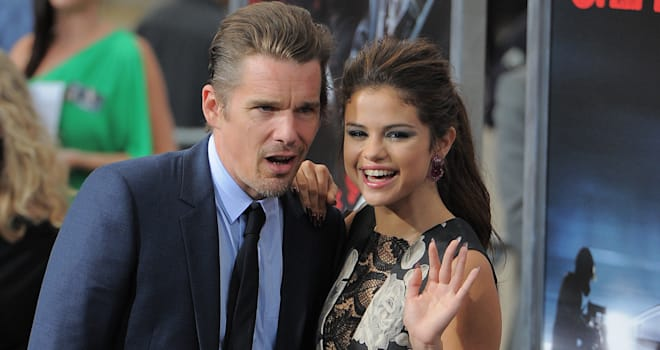 Selena Gomez, Ethan Hawke premiere of 'Getaway'