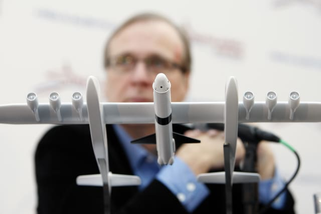 Paul Allen Aims for Orbit With New Private Spaceflight Venture