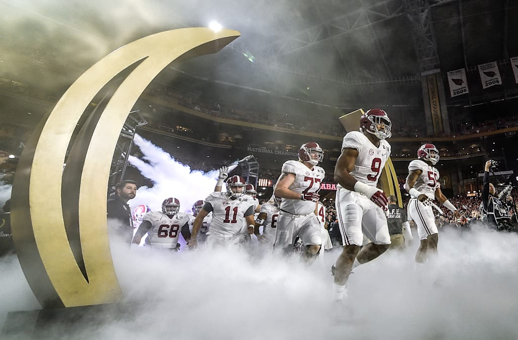 NCAA FOOTBALL: JAN 11 College Football Playoff National Championship - Alabama v Clemson
