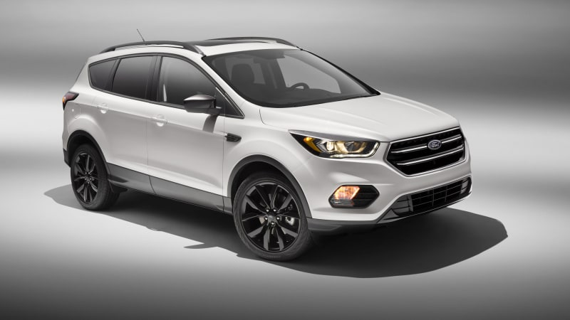 2017 Ford Escape joins Explorer with Sport Appearance pack