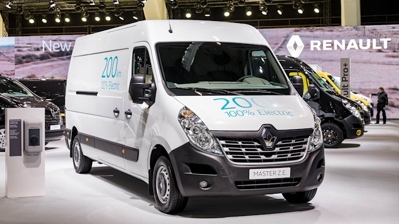 Renault unveils new Kangoo ZE and Master ZE electric commercial vehicles