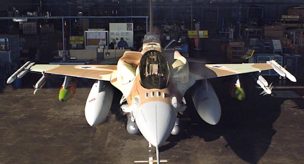Israel's F-16i rolls off Lockheed-Martin production line