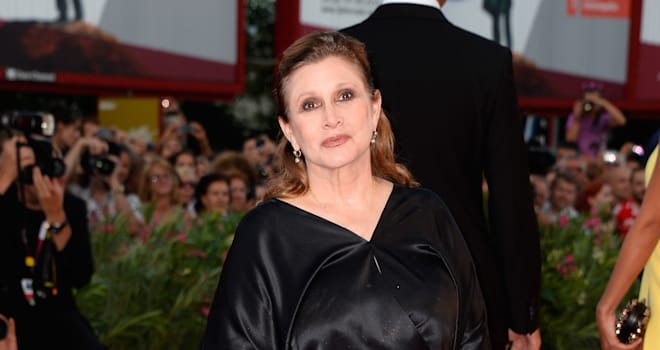 star wars episode vii carrie fisher