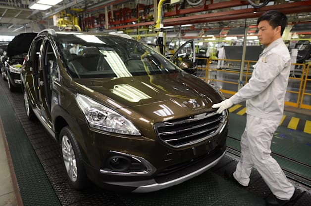 CHINA-FRANCE-AUTO-BUSINESS-PEUGEOT-DONGFENG